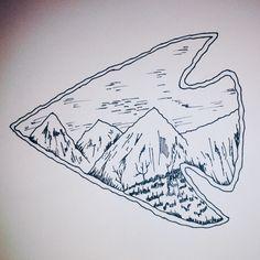 236x236 Replica Neolithic Stone Arrowhead (Elf Shot Talisman) K67 Tat