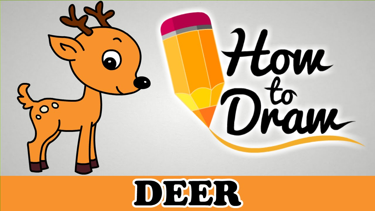 1280x720 How To Draw A Deer
