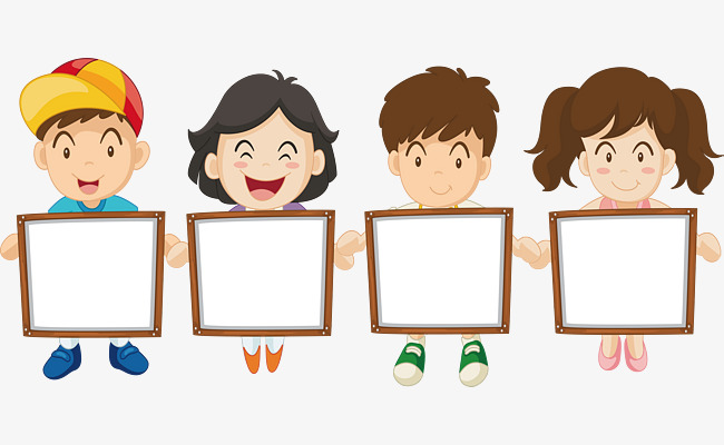 650x400 Children Drawing Board Title Box, Vector Png, Child Education, Art