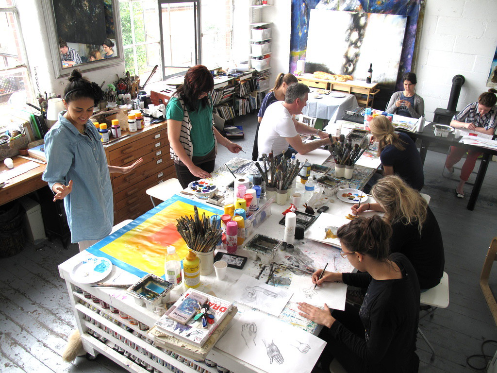 1024x768 Drawing And Painting Lessons London Art Classes