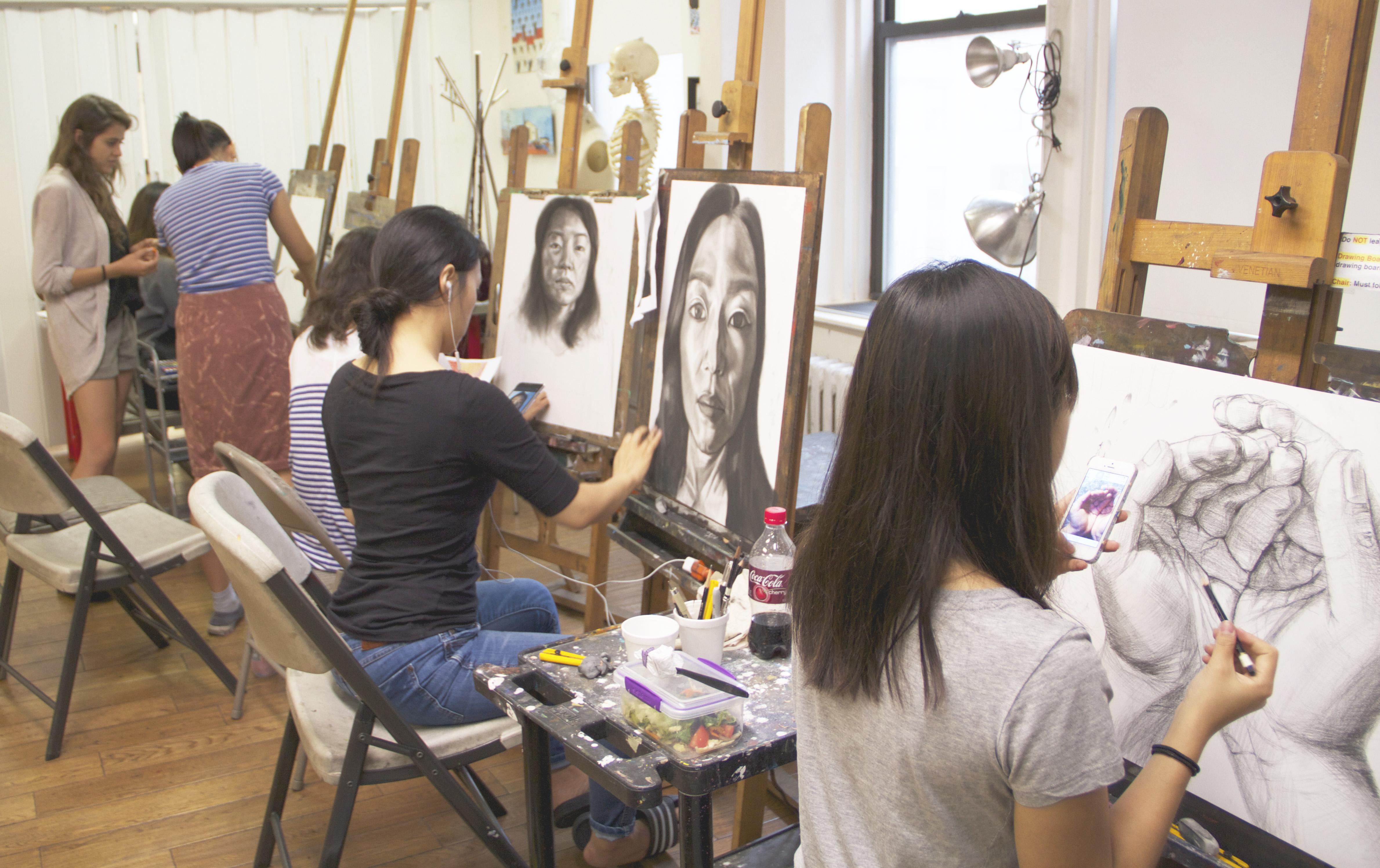 4758x2994 Portfolio Prep. Class For Major Art Schools