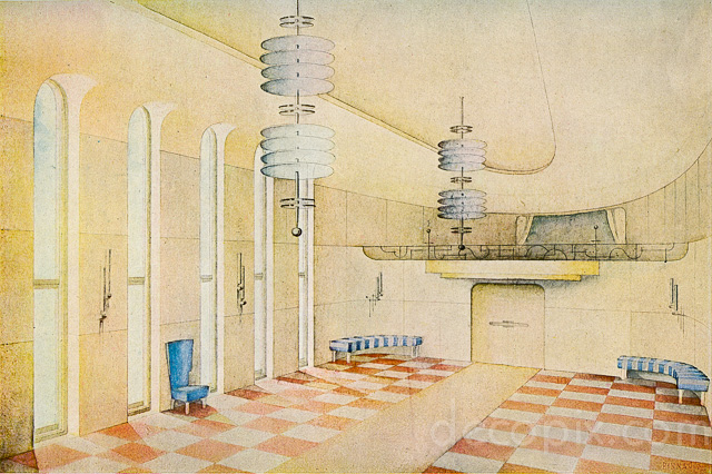 640x426 Art Deco Architecture Drawings Gallery Decopix