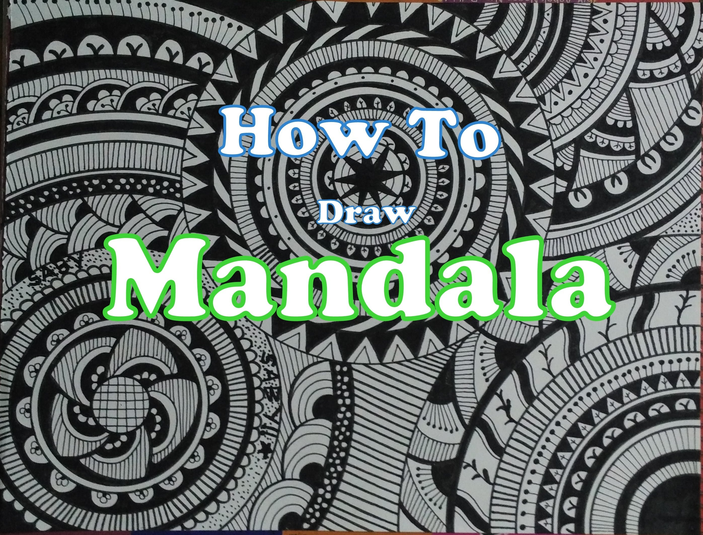 2793x2127 Mandala Art How To Draw Doodle For Beginners Doodling Tutorial