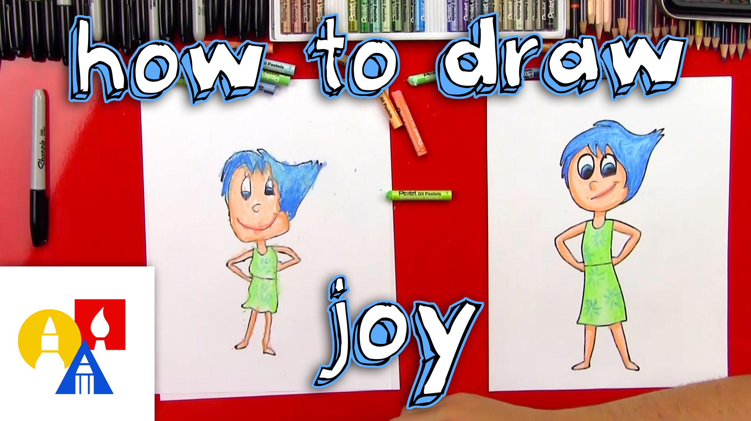 2463x1381 How To Draw Joy From Inside Out