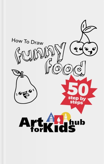 360x570 How To Draw Funny Food