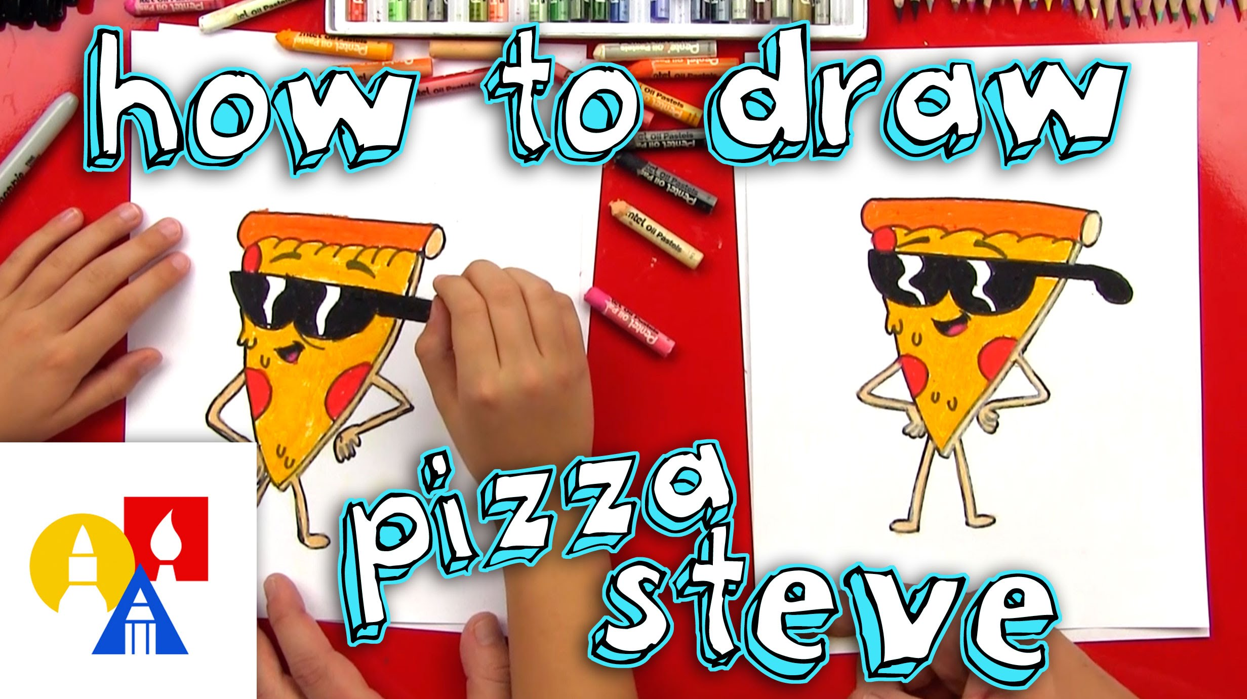 2463x1381 How To Draw Pizza Steve