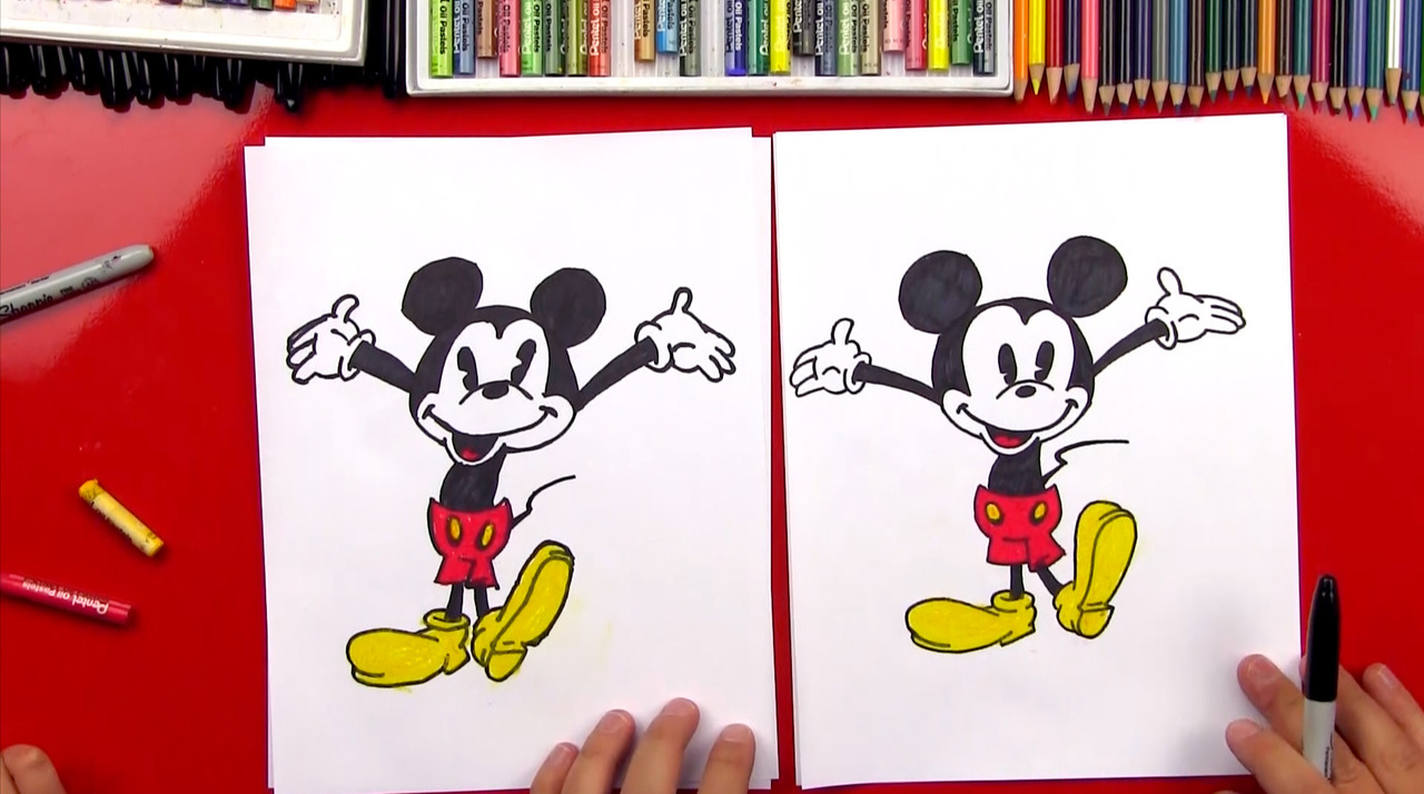 1280x714 Art For Kids Hub! How To Draw Mickey Mouse + New Art Giveaway!