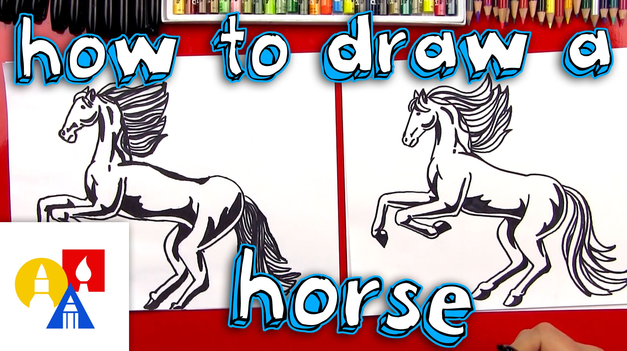 2463x1381 How To Draw A Realistic Horse (Part 1)