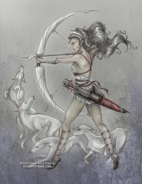 500x647 Artemis By Sketchykraft