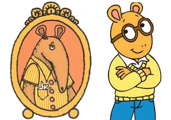 600x423 Arthur Memes On Twitter Left Is The Original Arthur Drawing (An