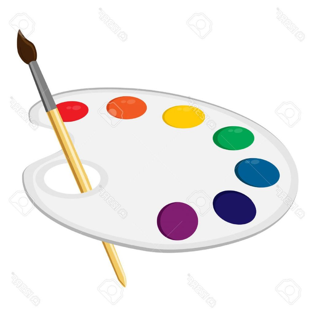 1024x1024 Best Free Colors Clipart Artist Palette Drawing