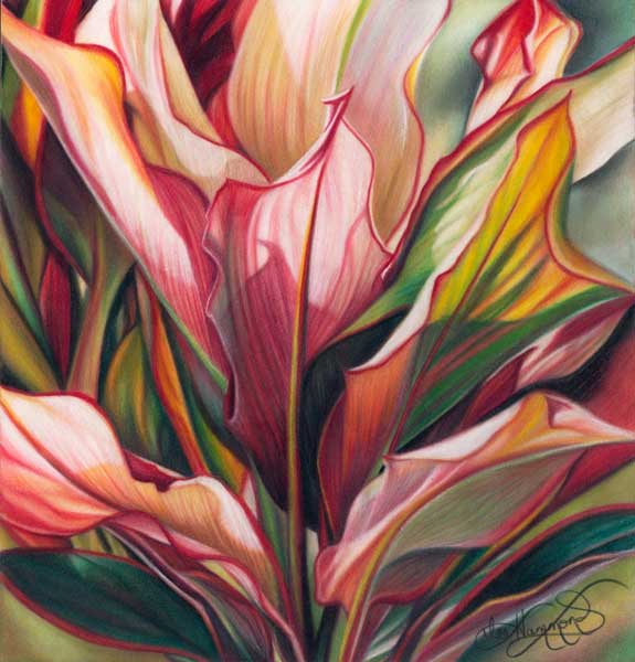 575x600 Drawing Flowers, How To Draw Flowers, Lee Hammond Artist, Art