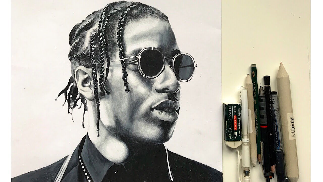 Asap Rocky Drawing at GetDrawings com | Free for personal
