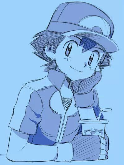 400x531 Ash Ketchum ^.^ I Give Good Credit To Whoever Made This Ash