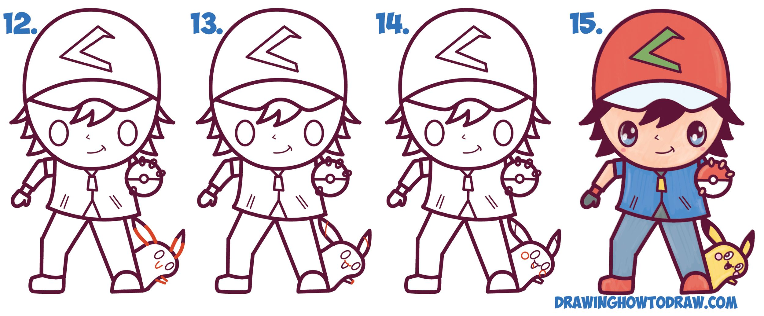 Ash Ketchum Drawing At Getdrawings Com Free For Personal Use Ash