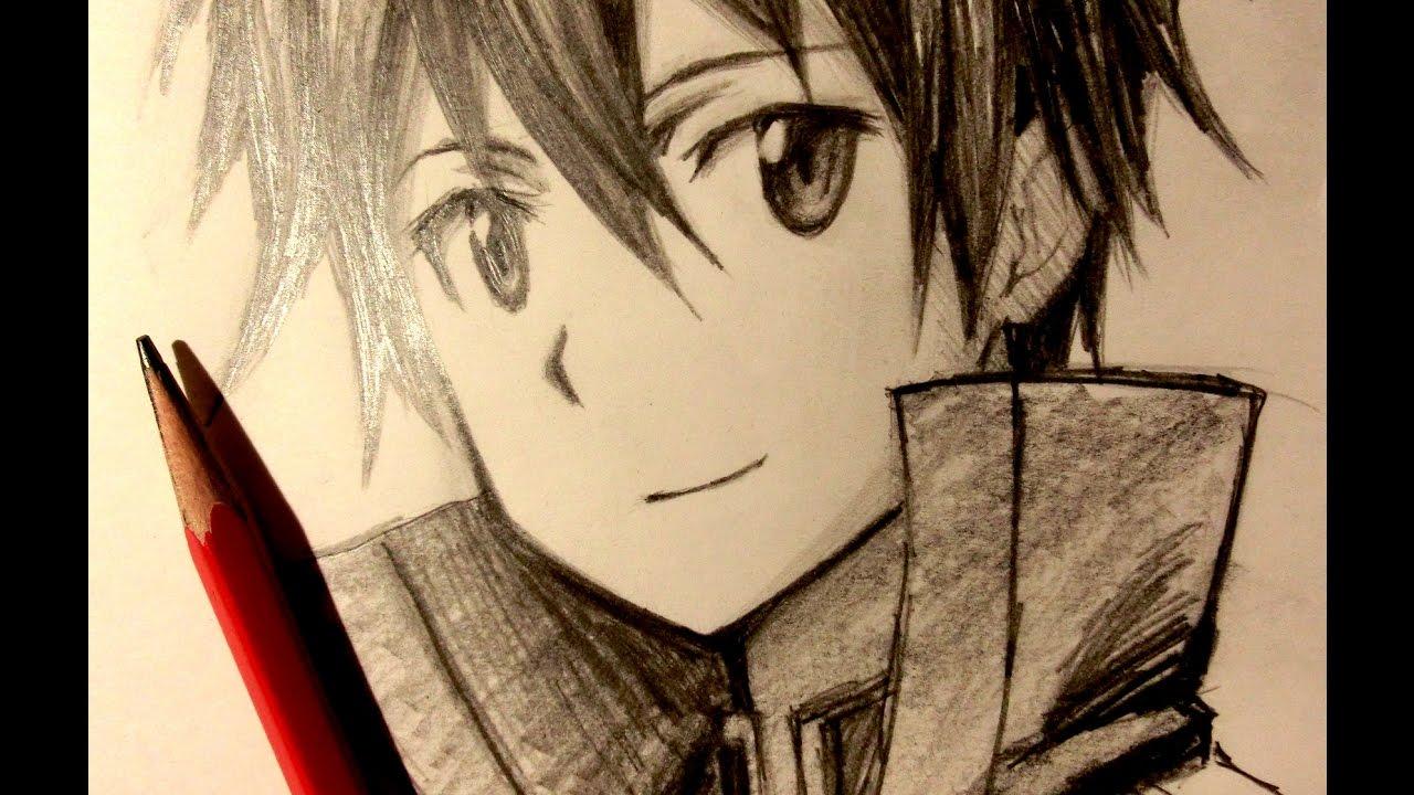 1280x720 Asmr Pencil Drawing 41 Kirito (Request)