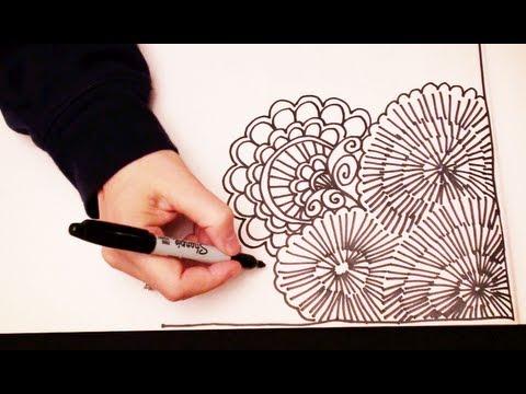 480x360 Asmr Doodling (Quality Sound, Asmr Drawn In Real Time, Doodling