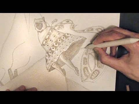 480x360 Asmr Drawing And Whispering Ear To Ear