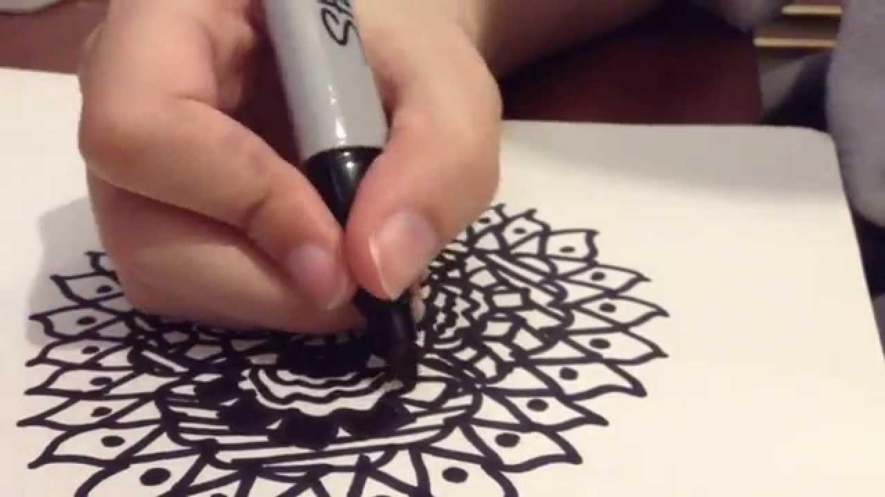 1280x720 Asmr Drawingdoodling + Gum Chewing