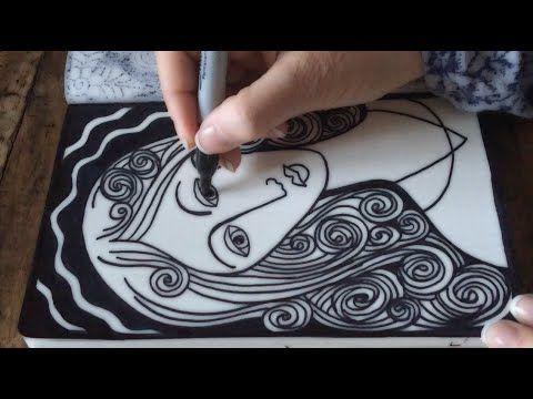480x360 Asmr Madonna Doodle (Asmr, Drawing, Sounds, Doodle, Tangle, Tingle