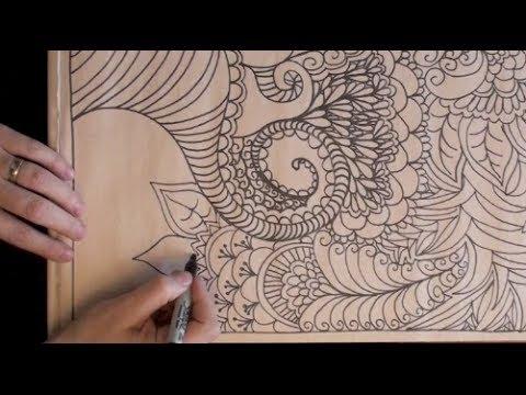 480x360 Asmr Slow Motion Drawing (Drawing, Rubbing, Paper Tingly Asmr