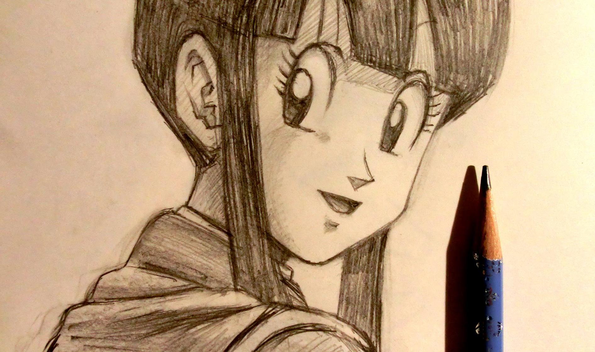 1892x1120 Dragon Ballz Face Pencil Drawing Asmr Pencil Drawing 14 Dragon