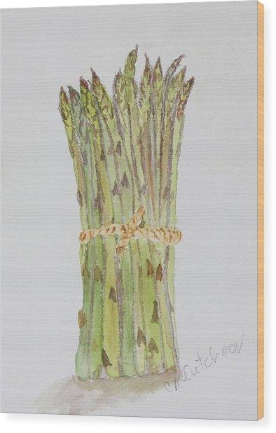 394x618 Asparagus Bunch Painting By Carol Mccutcheon