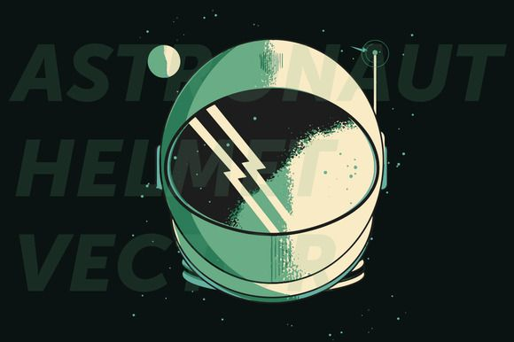 580x386 Astronaut Helmet Logo