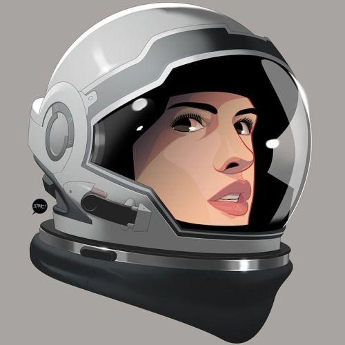 500x500 Astronaut Helmet Drawing Tumblr