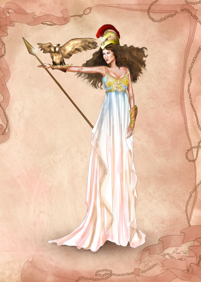 Athena Greek Goddess Drawing at GetDrawings.com  83f3e364936a