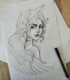 Athena Greek Goddess Drawing At Getdrawings Com Free For
