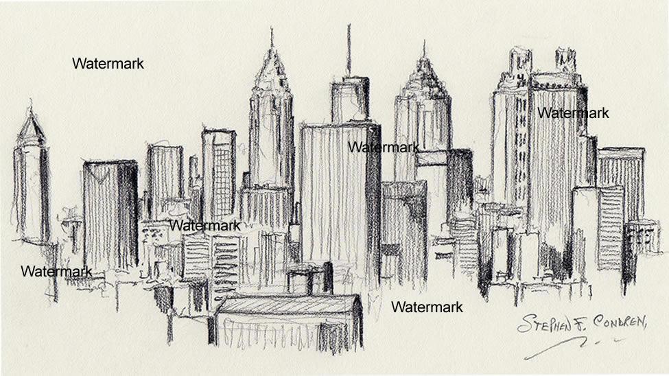 Atlanta Drawing at GetDrawings | Free download
