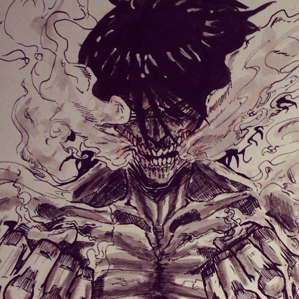 Attack On Titan Drawing at GetDrawings com | Free for personal use