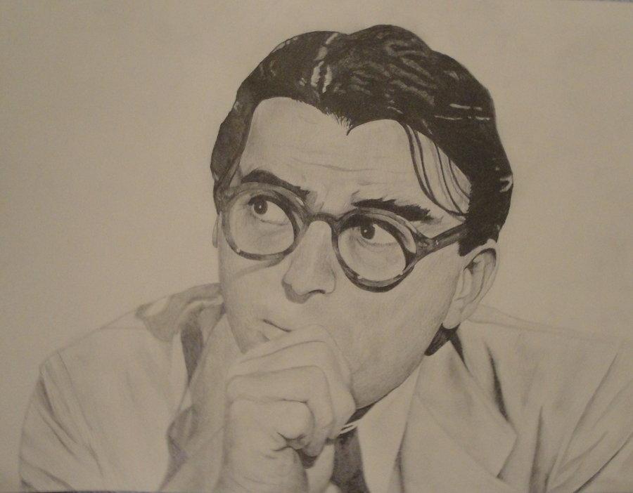 900x702 Atticus Finch By Clandestinecache
