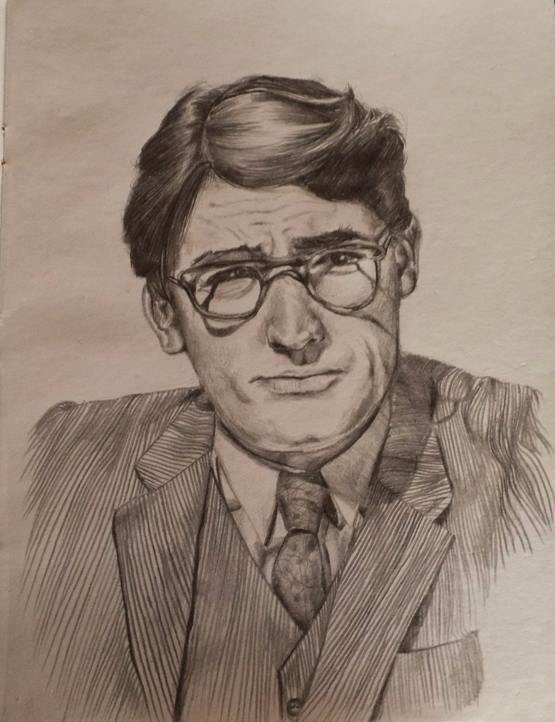 784x1020 Atticus Finch By Vanessa Foulke
