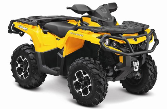 580x379 Brp Giving Away Two Can Am Atvs