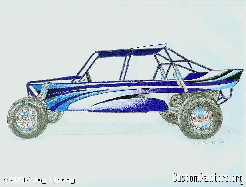 800x609 Sand Rail Drawing