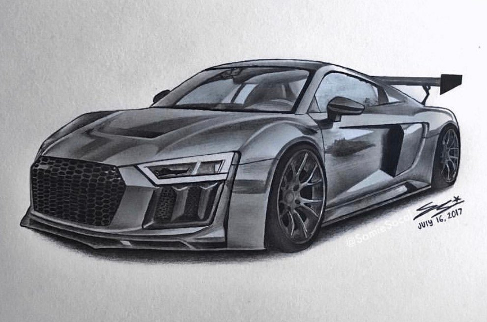 Audi Drawing At Getdrawings Com Free For Personal Use Audi Drawing