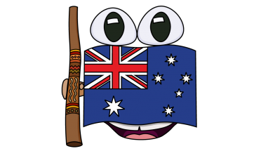 382x215 How To Draw Australian Flag, Easy Step By Step Drawing Tutorial
