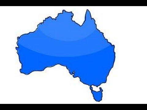 480x360 How To Draw Australia