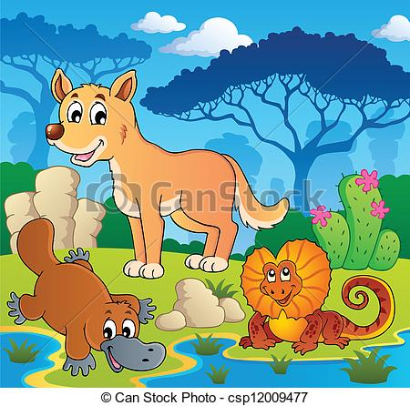 450x446 Australian Animals Theme 2