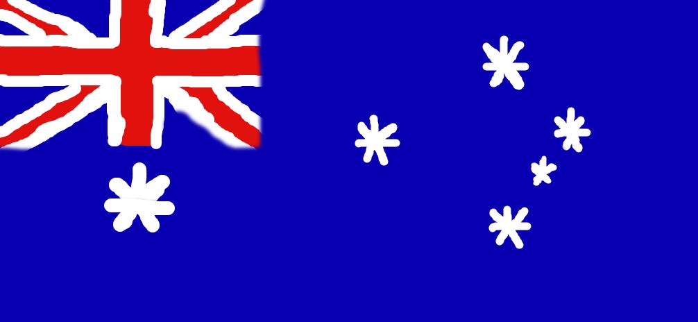 1006x464 The Australian Flag. By Bellykid5