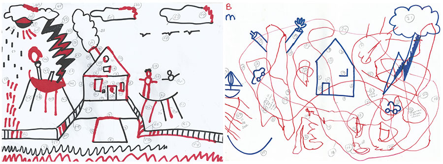 900x334 Test Draws On Doodles To Spot Signs Of Autism Spectrum Autism