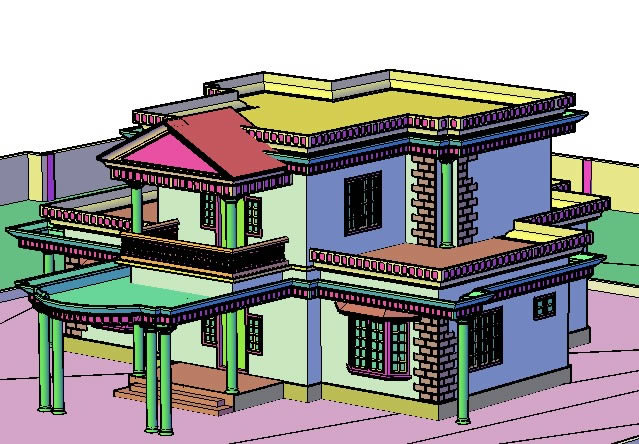 639x444 Autocad Drawings For House Plans