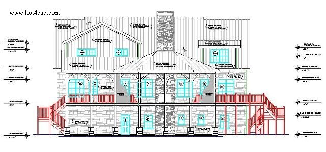 Autocad House Drawing At Getdrawingscom Free For Personal