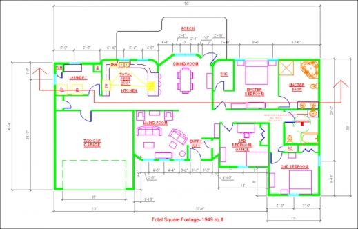 519x332 Outstanding Autocad Drawings Tiffany Gagne At Coroflot Autocad