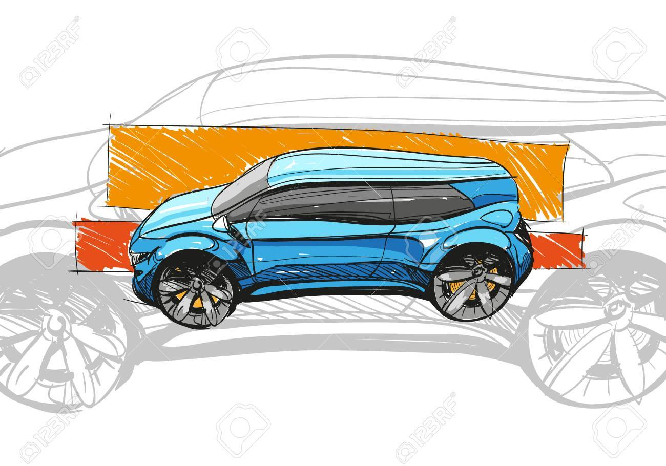 Automobile Drawing at GetDrawings.com | Free for personal use ...