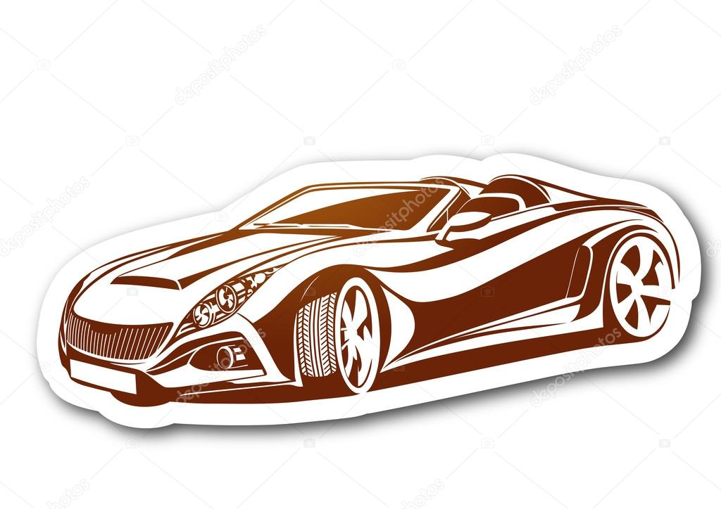 1024x724 Vector Charismatic Automobile Drawing Stock Vector Topcu