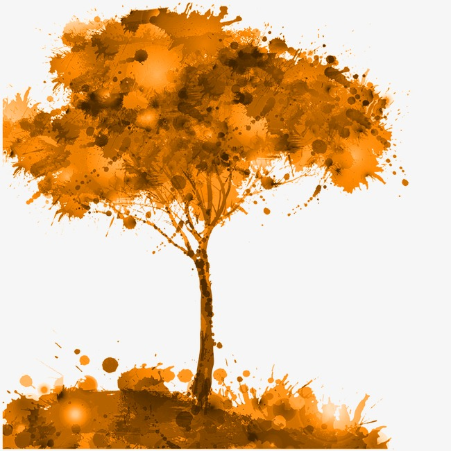 650x650 Autumn Leaves, Drawing The Tree, Autumn Tree, Defoliation Png
