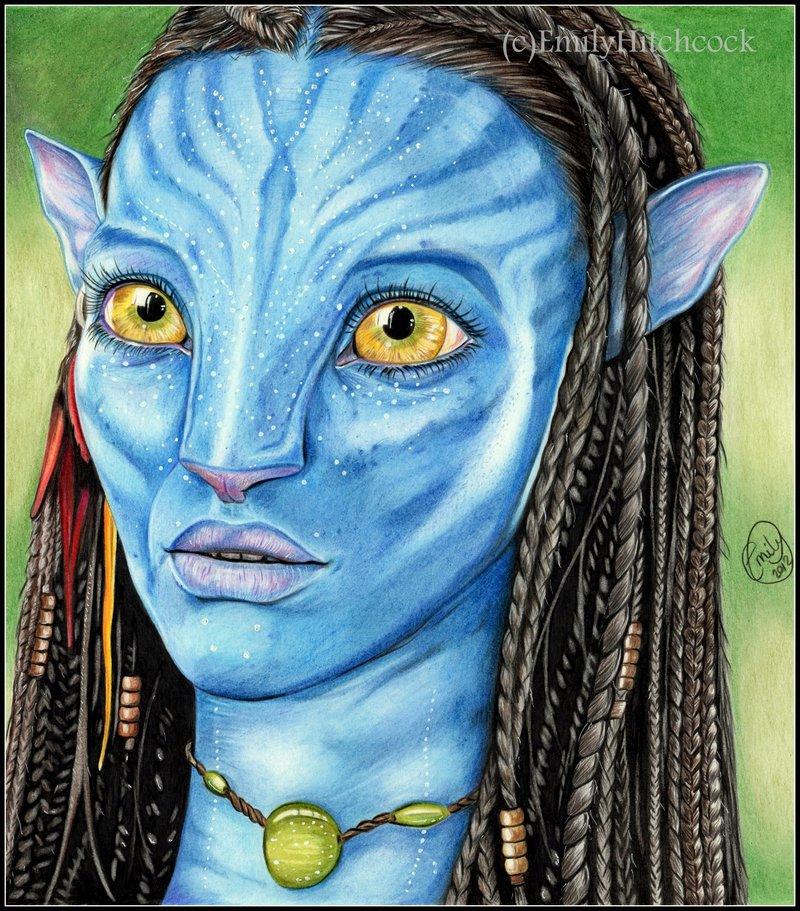 Avatar Movie Characters: Avatar Drawing At GetDrawings.com